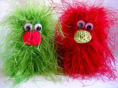 Keychains Birdie pair Dead Ringers par HellasKreationen sur Etsy, €12.90