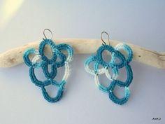 Crochet earings - Koronkowe kolczyki