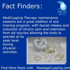 MediCuppingTM Therapy maintenance sessions great for any type of training program and treating old injuries - what injuries have you seen improvements with massage therapy cupping?    Find out more visit:  http://www.massagecupping.com