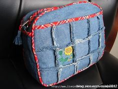 fun idea with the denim squares