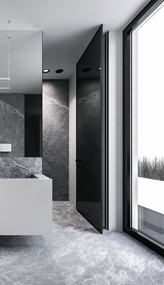 The marble is in charge right? Turn your bathroom on an amazing marble bathroom. See more at maisonvalentina.net #marblebathrooms