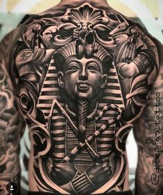 For the best back tattoos by top artists from around the world, including full back, shoulder back, back tattoos for men and back tattoos for women plus Japanese and Dragon back tattoos, check out our list of 68 of the very best back tattoos. Cool Back Tattoos, Back Tattoos For Guys, Back Tattoo Women, Badass Tattoos, Man Back Tattoo, Tattoos 3d, Trendy Tattoos, Body Art Tattoos, Sleeve Tattoos