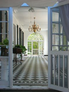 Southern Living - 'nuff said. Lots of great details on this porch. Love the screen doors.