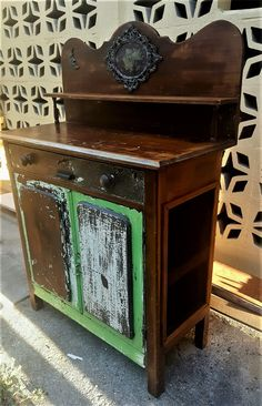 Australian Pine Meatsafe, original paint and structure, lightly sanded and sealed . Beautiful piece of furniture. Hope Chest, Pine, The Originals, Antiques, Storage, Painting, Furniture, Vintage, Home Decor