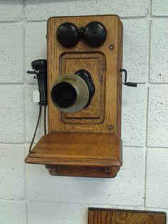 Antique Kellogg Phone Decoration Circa 1901 by EastIdahoCompany, $299.99