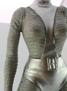 Space Girl Costume, Girl Costumes, Space Fashion, Fashion Line, Ufo Tv Series, Futuristic Motorcycle, Future Fashion, Retro Futurism, Stella Jean