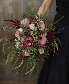 Bohemian Wedding Hair, Lilac Wedding, Wedding Colors, Wedding Bouquets, Wedding Flowers, Beautiful Flower Quotes, Beautiful Flowers, Art Floral, Floral Design