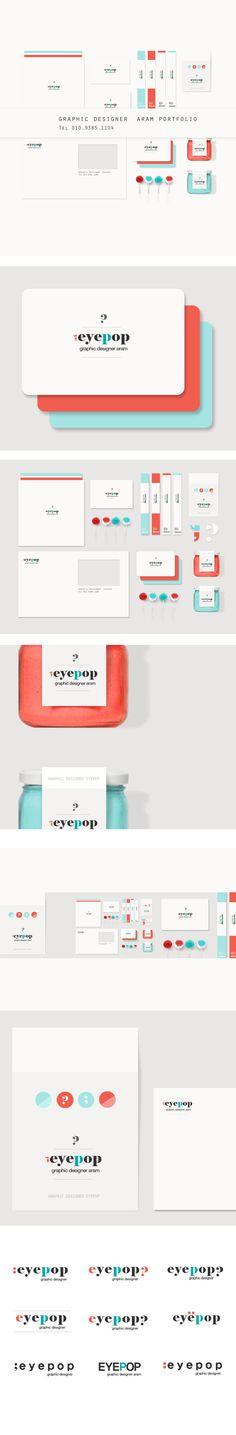 eyepop self branding on Behance