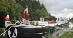 Who knew that traveling by barge in France could be so luxurious?