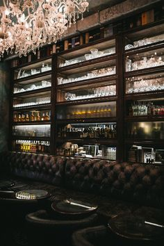 A Groom and a Drink at The Fitz in Odessa by Denis Belenko Design Band Cafe Bar, Cafe Restaurant, Restaurant Design, Glass Shelves In Bathroom, Floating Glass Shelves, Bar Shelves, Shelving Display, Display Cabinets, The Fitz