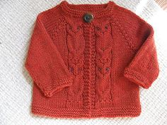 Ravelry: Hoot Cardigan pattern by Brenna Kotar Baby Boy Knitting, Knitting For Kids, Baby Knitting Patterns, Hand Knitting, Baby Knits, Knitting Projects, Cardigan Pattern, Baby Cardigan, Crochet Baby