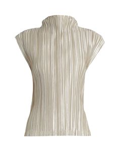High-neck pleated top  | Pleats Please Issey Miyake | MATCHESFASHION.COM UK