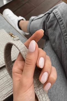 30 Awesome Manicure nails ideas,you will love it! - Nails 30 Awesome Manicure nails ideas,you will love it! Natural Nail Designs, Gel Nail Designs, Nails Design, Neutral Nails, Nude Nails, Matte Nails, Coffin Nails, Stars Nails, Nail Polish