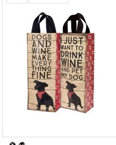 Dog lover gift, Gift for co-worker, Wine gift bag, groomsmen gift, Wine Gift bag, Holiday gift, Teacher gift, Wine Bottle, gift for parents by CahillDesignsUS on Etsy https://www.etsy.com/listing/554324178/dog-lover-gift-gift-for-co-worker-wine