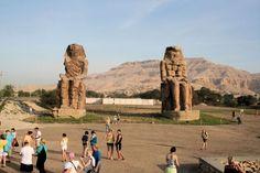 Senior Citizens tours , Colossi of Memnon http://www.maydoumtravel.com/senior-citizens-tours-packages/4/1/17