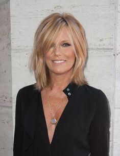 Patti Hansen Medium Layered Cut. She has such awesome hair.