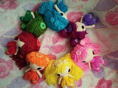 Rainbow Fairy Girls Free Pattern (-^.^-)