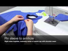 How to Sew a V-Neck T-Shirt (Jalie Pattern 2918) - YouTube...very useful
