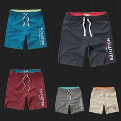 Details about NWT Hollister HCO Athletic Shorts Fleece Gym Sweat Jogger Short By Abercrombie – Daily Fashion Jogger Shorts, Sport Shorts, Athletic Shorts, Gym Shorts Womens, Men's Shorts, Men's Swimwear, Suit Fashion, Daily Fashion, Mens Innerwear