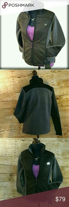 """20%/2 NWT NB XXL Double Fleece Gray Fall Jacket ALMOST GONE! Simply stylish and ready for cooler days and nights. New Balance double brushed fleece jacket. Featuring cozy fleece accented by a chic quilted front and bottom of arm panels. Approximate flat measurements bust 24"""", 25"""" long. Size XXL. Perfect for exercising in ( running, walking, biking, etc) or sporting as an extra layer of warmth while out and about. New with tags. MSRP $90. New Balance  Jackets & Coats"""
