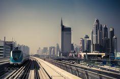 Dubai Metro by moulin_photo