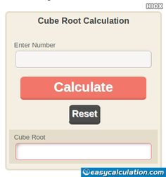 how to find cube root on calculator