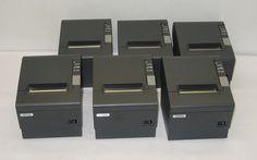 Lot of 6 Epson TM T88IV M129H Thermal POS Receipt Printers | eBay