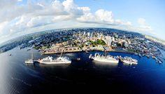 Manaus, capital do estado do Amazonas