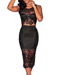 made2envy Lace Overlay See Through Back Long Evening Dress at Amazon Women's Clothing store: