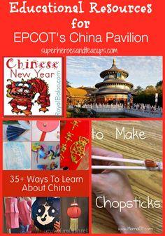 Educational Resources China Pavilion - #Epcot