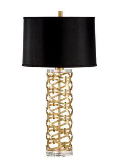 DAZZLING LAMP/GOLD