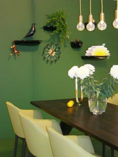 back to nature with green dining room  @ Woonbeurs 2013 Amsterdam