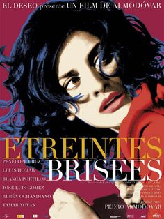 Etreintes brisées est un film de Pedro Almodóvar avec Penélope Cruz, Lluis Homar. Synopsis : Dans l'obscurité, un homme écrit, vit et aime. Quatorze ans auparavant, il a eu un violent accident de voiture, dans lequel il n'a pas seulement perdu