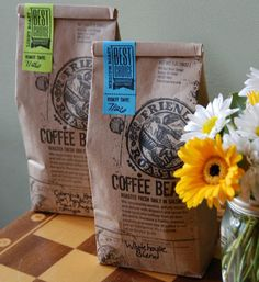 Friends Roastery Coffee Bean Packaging