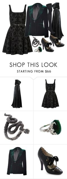 """Cecilia Gaunt"" by beckypotter21 on Polyvore featuring moda, Forever New, Smythe e Topshop"