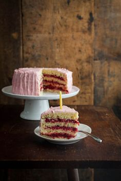 Naturally Ella | Lemon Raspberry {Birthday} Cake