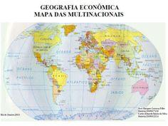 Mapa das Multinacionais Marcos Limoli { Linkedin / Facebook / Twiter } República Federativa do Brasil.