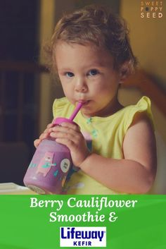 An easy way to get your fruit, veggies and probiotics in! Delicious, easy and toddler approved!  @lifewaykefir #loveyourguts #madewithlifeway #lifewaykefir