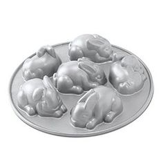 These amazing mini bunny cake molds. | 25 Insanely Cute Products For People Who Are Obsessed With Bunnies