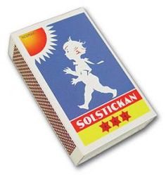 SWEDISH INVENTION: Solstickan Safety Matches - a Swedish invention.