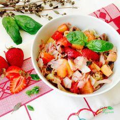 Refogado de Couve Branca com Ananás e Morango – Veggitable