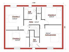 49 meilleures images du tableau Plans de maisons | Modern townhouse ...