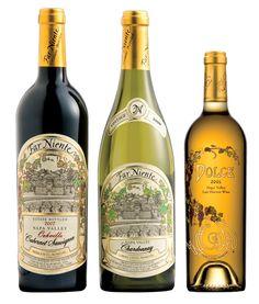 <3  Far Niente ... Cabernet, Chardonnay, Dolce ... the wine hat trick!!