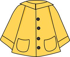 Raincoat Clip Art - Raincoat Image