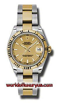 This Rolex Oyster Perpetual Datejust Gold Yellow Mens Watch, 178273-CHIO features 31 mm Stainless Steel case, Yellow Gold dial, Sapphire crystal, Fixed bezel, and a Stainless Steel and 18K yellow gold bracelet. Rolex Oyster Perpetual Datejust Gold Yellow Mens Watch, 178273-CHIO also features Automatic movement - See more at: http://www.worldofluxuryus.com/watches/Rolex/Datejust/178273-CHIO/641_642_6556.php#sthash.CMAGPfi6.dpuf