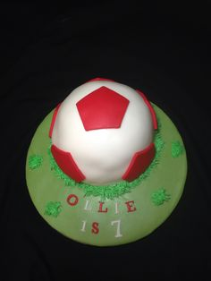 Football Cake by Angell Cakes