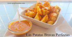 Cómo hacer las mejores patatas bravas del mundo Around The World Food, Food Porn, Spanish Tapas, Tasty, Yummy Food, Happy Foods, Snacks, Vegan, Sweet Potato