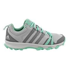 wholesale dealer 56b4f 724ce Women s adidas Tracerocker Trail Running Shoe Ice  Ch Grey Easy Green Adidas  Running Shoes