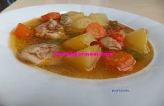 Tavuklu Fırında Patates | Yemekgurmesi