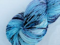 Sock Yarn Hand dyed Superwash Merino & Nylon